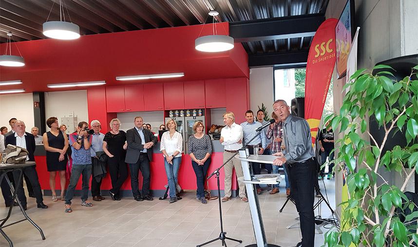 Eröfnung vereinseigenes Fitness- und Gesundheitsstudio SSC Karlsruhe