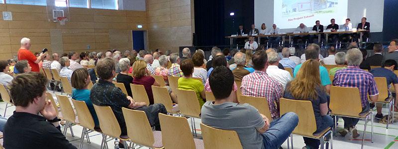 Vorträge Schulungen Fortbildungen - hier Beispiel Sitzung bei einem Vereinssportzentrum