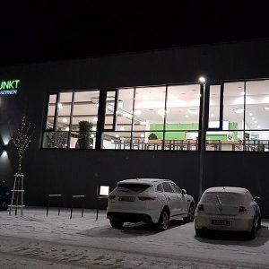 Der Sportpunkt Kernen von außen bei der Eröffnung 2019
