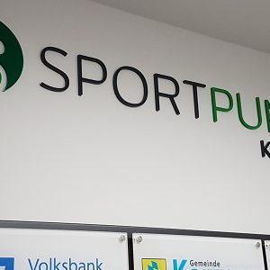 Bilder SPORTPUNKT Kernen Eröffnung - Beratungsprojekt Flowcon Logo