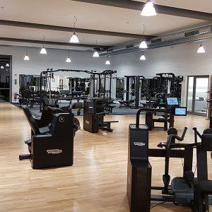 Fitnessbereich Sportpunkt Kernen