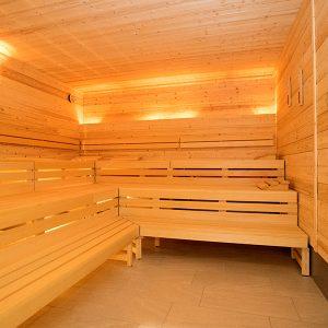 Bilder Eröffnung SPORTPUNKT Kernen - Saunabereich