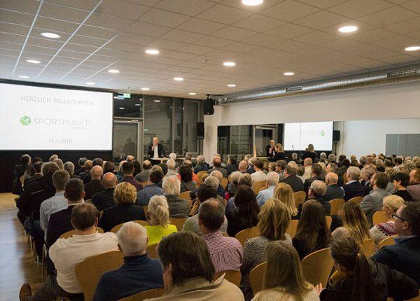 SPORTPUNKT SPORTVEREINSZENTRUM Kernen - Eröffnung 2019