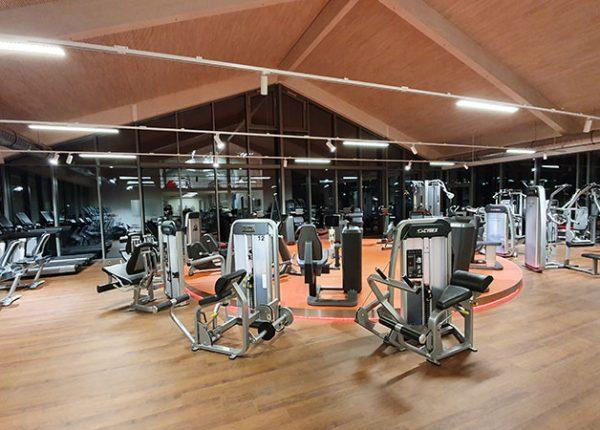 Trainingsfläche im Sport- und Gesundheitscenter des SV Ettenkirch