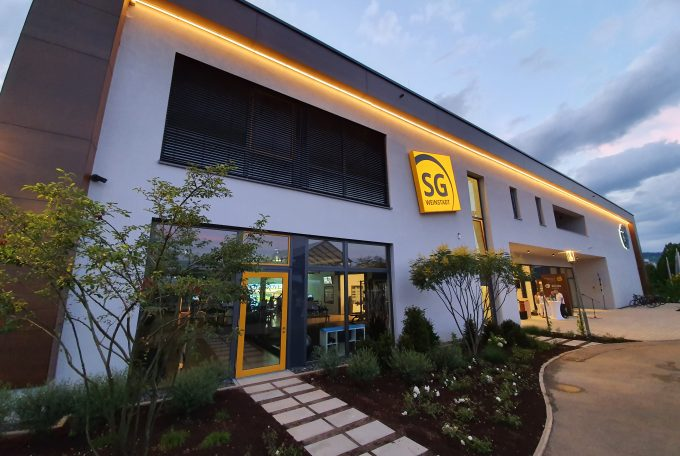 SG Cube Weinstadt – Das Sportvereinszentrum ist eröffnet!